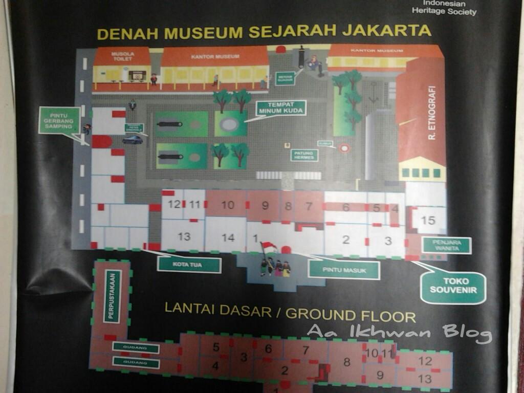 Denah Museum fatahillah